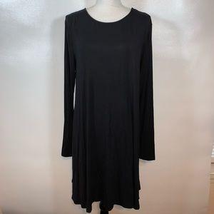 NWT Old Navy Black Swing Dress Women's Size XL